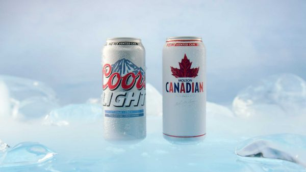 Molson Canadian & Coors Light Vented Cans